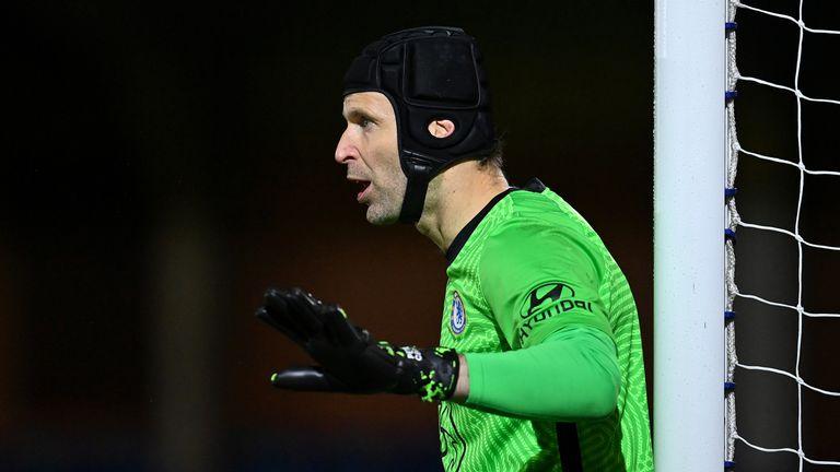Petr Cech makes a historic return for Chelsea U23