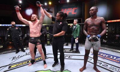 Israel Adesanya suffers first career defeat by Jan Blachowicz