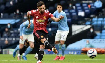 Man Utd ends Man City's 21-game unbeaten streak