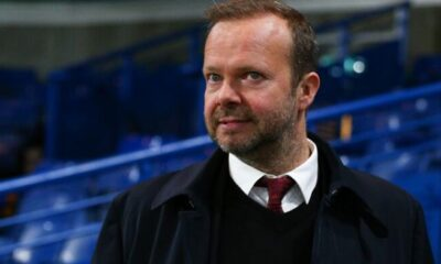 Ed Woodward resigns as Man Utd's Executive vice-chairman