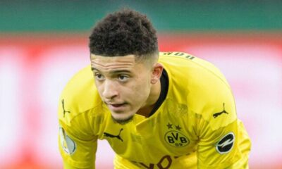 Jadon Sancho to miss reunion with former club Man City